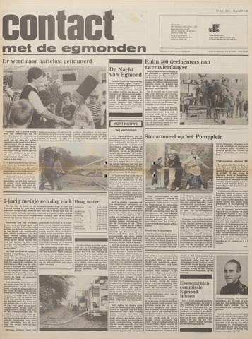 Contact met de Egmonden 1980-07-30