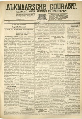 Alkmaarsche Courant 1933-12-05
