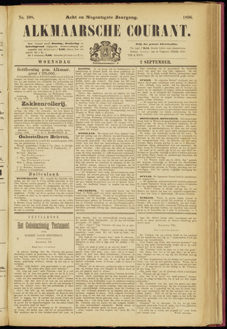 Alkmaarsche Courant 1896-09-02