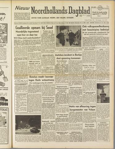 Nieuw Noordhollandsch Dagblad : voor Alkmaar en omgeving 1951-03-30