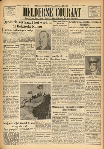 Heldersche Courant 1954-03-08