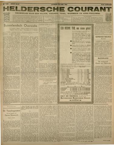 Heldersche Courant 1934-04-28