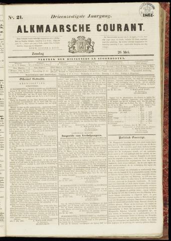 Alkmaarsche Courant 1861-05-26