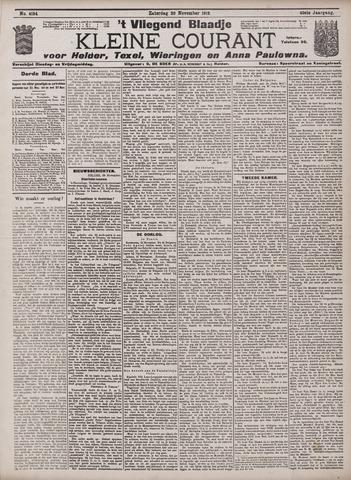 Vliegend blaadje : nieuws- en advertentiebode voor Den Helder 1912-11-30