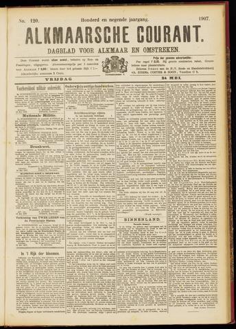 Alkmaarsche Courant 1907-05-24