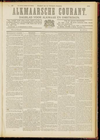 Alkmaarsche Courant 1919-07-21
