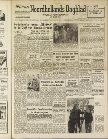 Nieuw Noordhollandsch Dagblad : voor Alkmaar en omgeving 1951-12-31