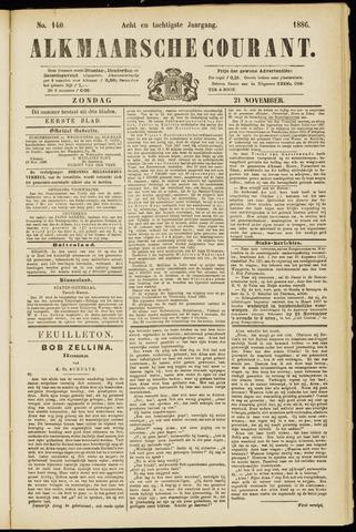 Alkmaarsche Courant 1886-11-21