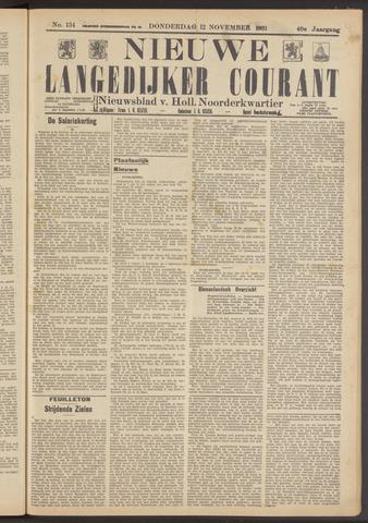 Nieuwe Langedijker Courant 1931-11-12
