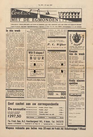Contact met de Egmonden 1965-09-23