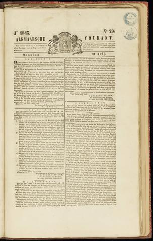 Alkmaarsche Courant 1845-07-21