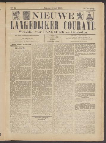 Nieuwe Langedijker Courant 1898-05-01