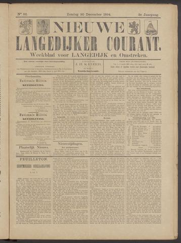 Nieuwe Langedijker Courant 1894-12-30