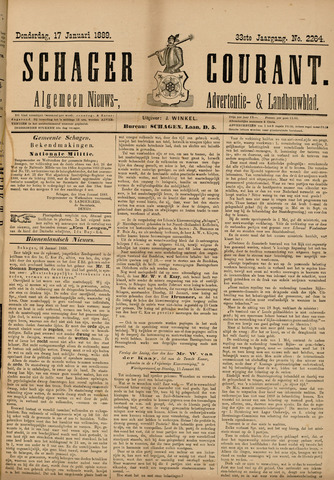 Schager Courant 1889-01-17