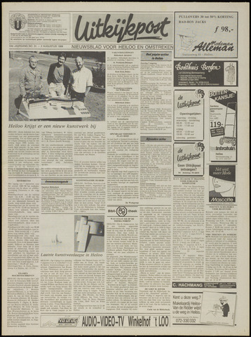Uitkijkpost : nieuwsblad voor Heiloo e.o. 1989-08-02