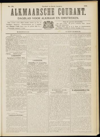 Alkmaarsche Courant 1908-09-09