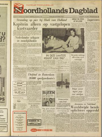 Noordhollands Dagblad : dagblad voor Alkmaar en omgeving 1967-12-30