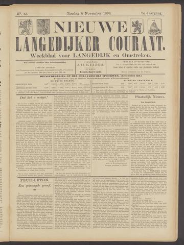 Nieuwe Langedijker Courant 1893-11-05