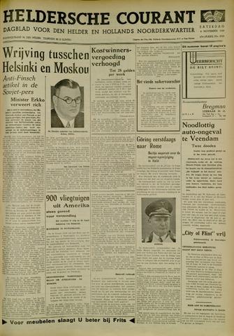 Heldersche Courant 1939-11-04
