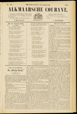 Alkmaarsche Courant 1898-10-07