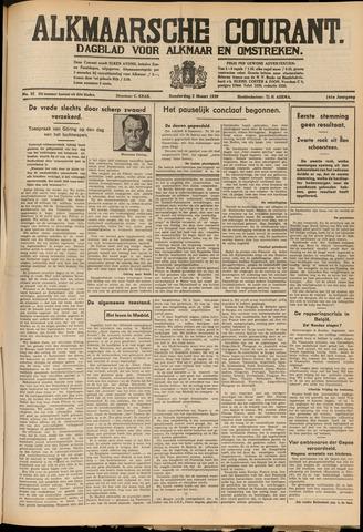 Alkmaarsche Courant 1939-03-02