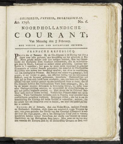 Noordhollandsche Courant 1798-02-05