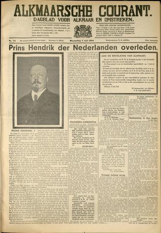 Alkmaarsche Courant 1934-07-04