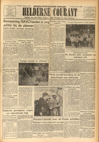 Heldersche Courant 1952-08-09