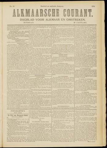 Alkmaarsche Courant 1914-01-27