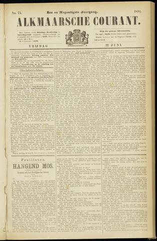 Alkmaarsche Courant 1894-06-22