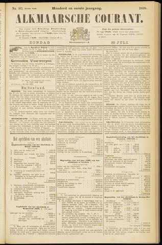 Alkmaarsche Courant 1899-07-30