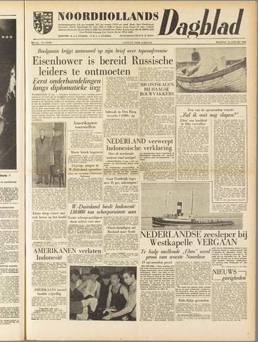 Noordhollands Dagblad : dagblad voor Alkmaar en omgeving 1958-01-13