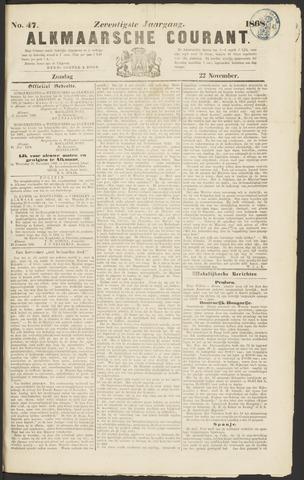 Alkmaarsche Courant 1868-11-22