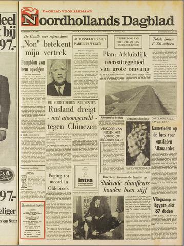 Noordhollands Dagblad : dagblad voor Alkmaar en omgeving 1969-03-20