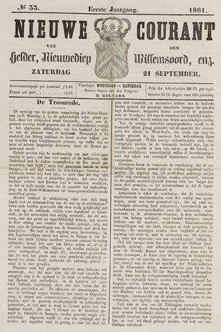 Nieuwe Courant van Den Helder 1861-09-21