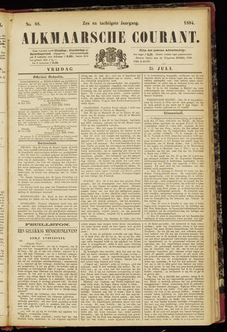 Alkmaarsche Courant 1884-07-25