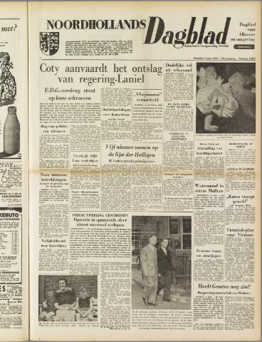 Noordhollands Dagblad : dagblad voor Alkmaar en omgeving 1954-06-14