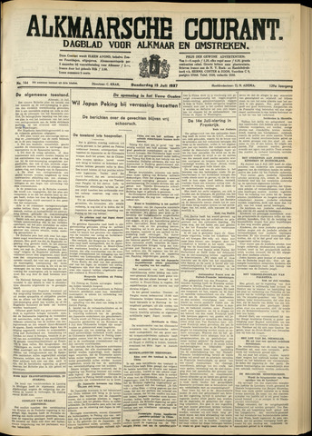 Alkmaarsche Courant 1937-07-15