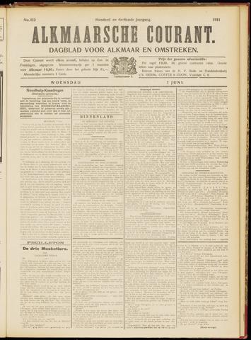 Alkmaarsche Courant 1911-06-07