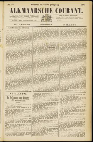 Alkmaarsche Courant 1899-03-29