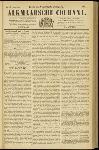 Alkmaarsche Courant 1895-01-06
