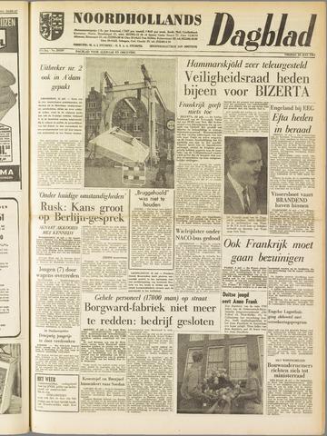 Noordhollands Dagblad : dagblad voor Alkmaar en omgeving 1961-07-28