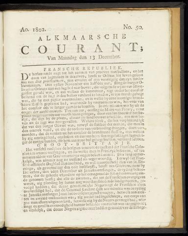 Alkmaarsche Courant 1802-12-13
