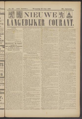 Nieuwe Langedijker Courant 1920-06-23