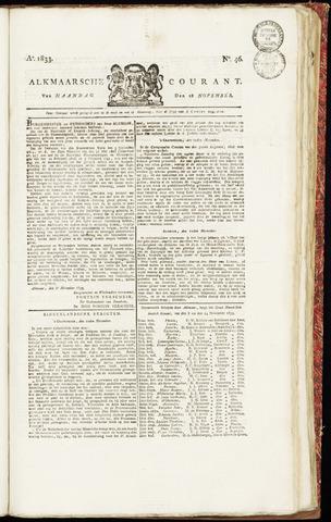 Alkmaarsche Courant 1833-11-18