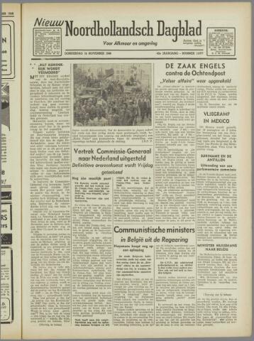 Nieuw Noordhollandsch Dagblad : voor Alkmaar en omgeving 1946-11-14