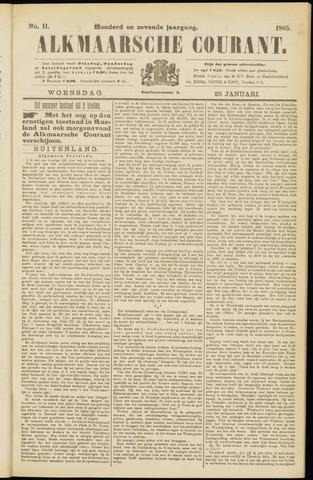 Alkmaarsche Courant 1905-01-25