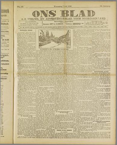Ons Blad : katholiek nieuwsblad voor N-H 1920-07-07