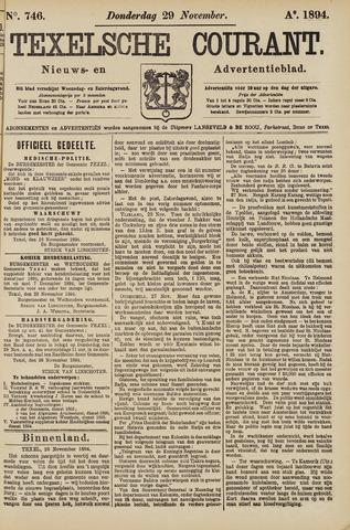 Texelsche Courant 1894-11-29