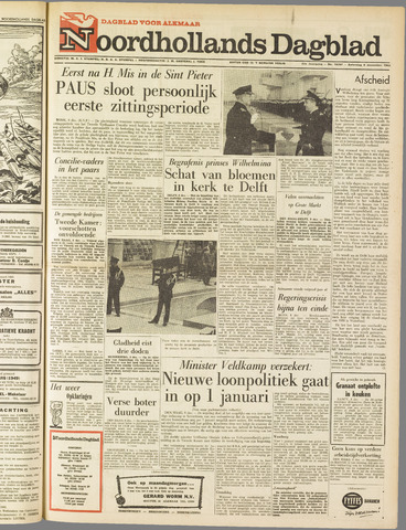 Noordhollands Dagblad : dagblad voor Alkmaar en omgeving 1962-12-08